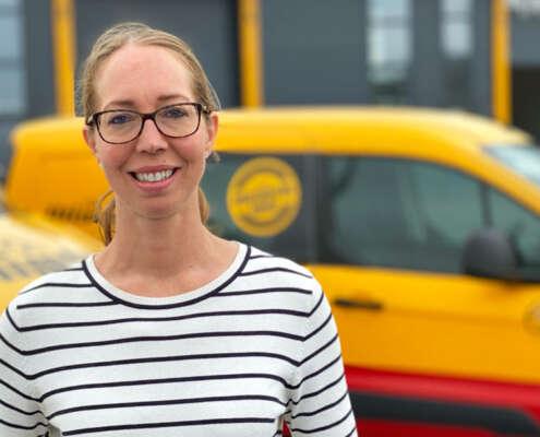 Anna-Karin Eriksson er ny driftssjef i Olimb Rørfornying AS