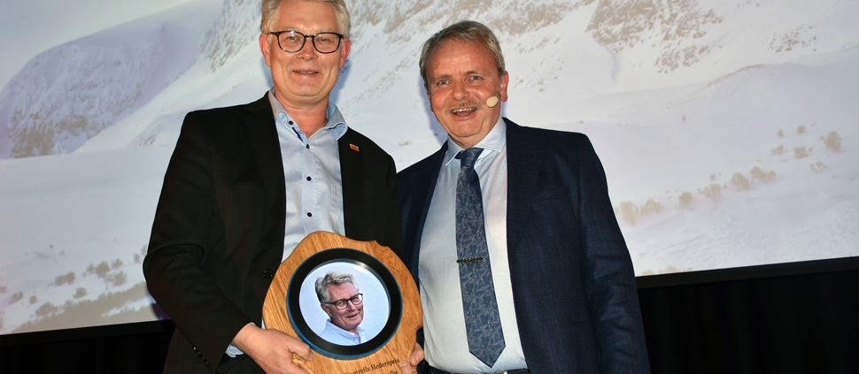 Peer-Chrstian Nordby fikk Hallingtreffs hederspris 2020
