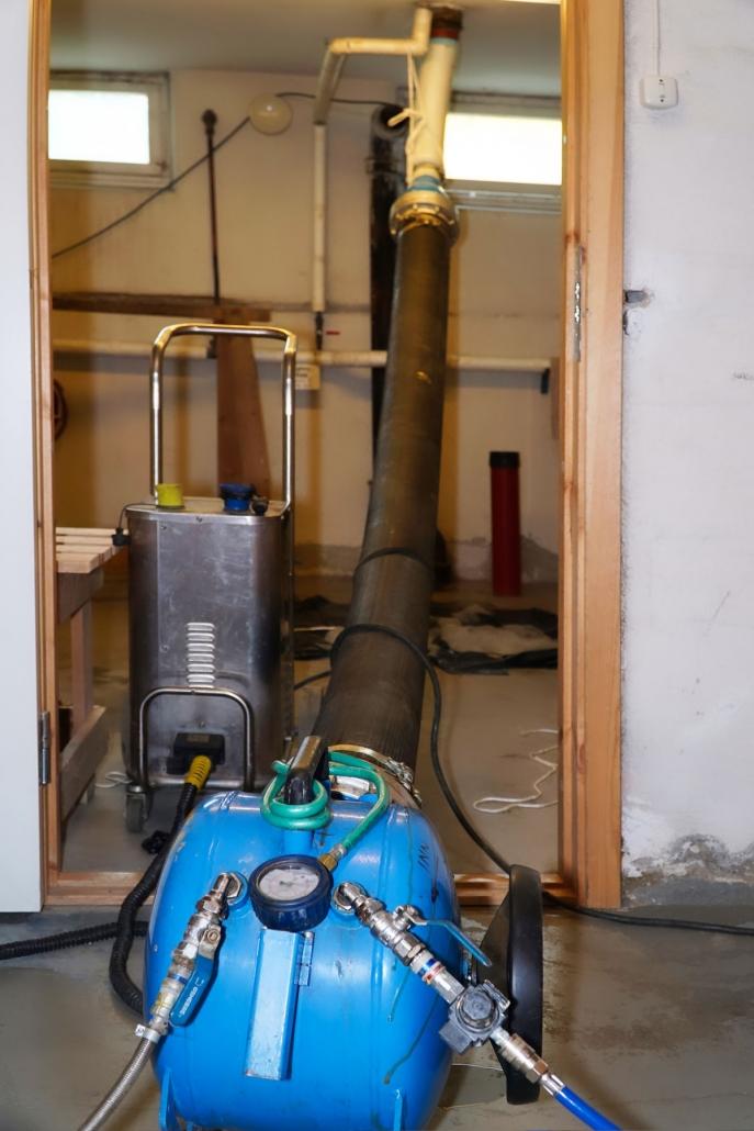 Installasjon strømpeforing