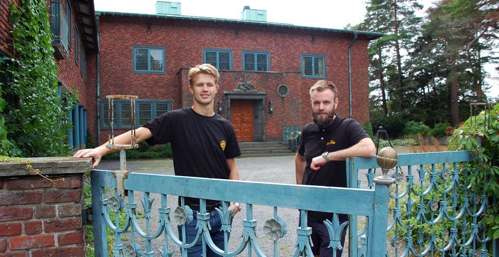 Rørfornying i Villa Midtåsen