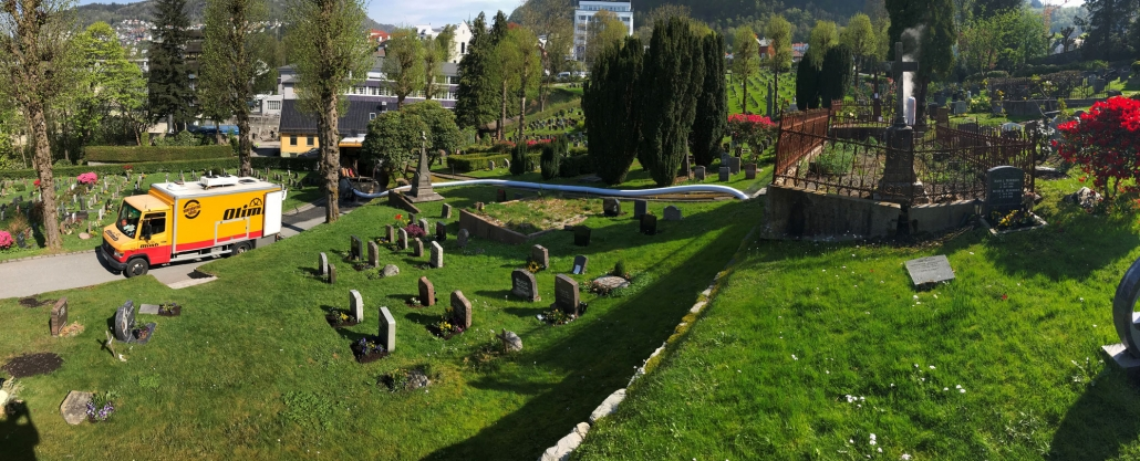Rorfornying Møllendal gravplass
