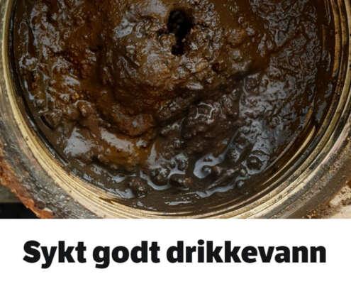 """NRKs artikkel """"Sykt godt drikkevann"""""""