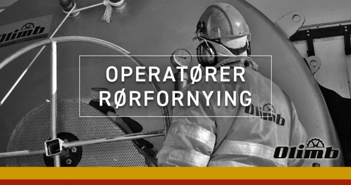 Olimb Rørfornying søker medarbeidere/operatører