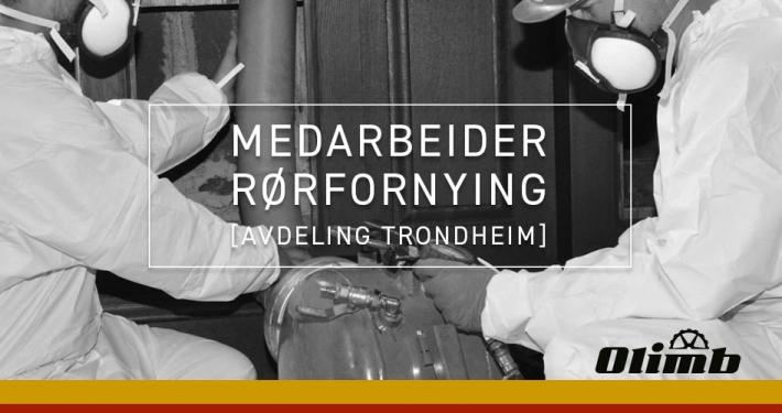 Olimb Rørfornying avdeling Trondheim søker operatør/medarbeider