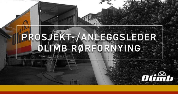 Prosjektleder/anleggsleder til Olimb Rørfornying AS