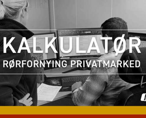 Olimb Rørfornying søker kalkulatør privatmarked