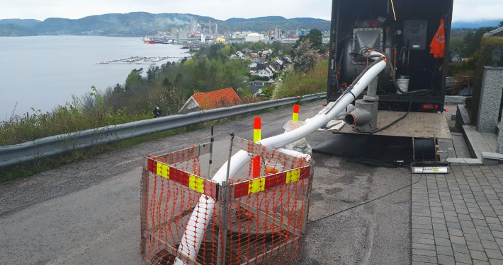 Strømperenovering avløp Porsgrunn kommune
