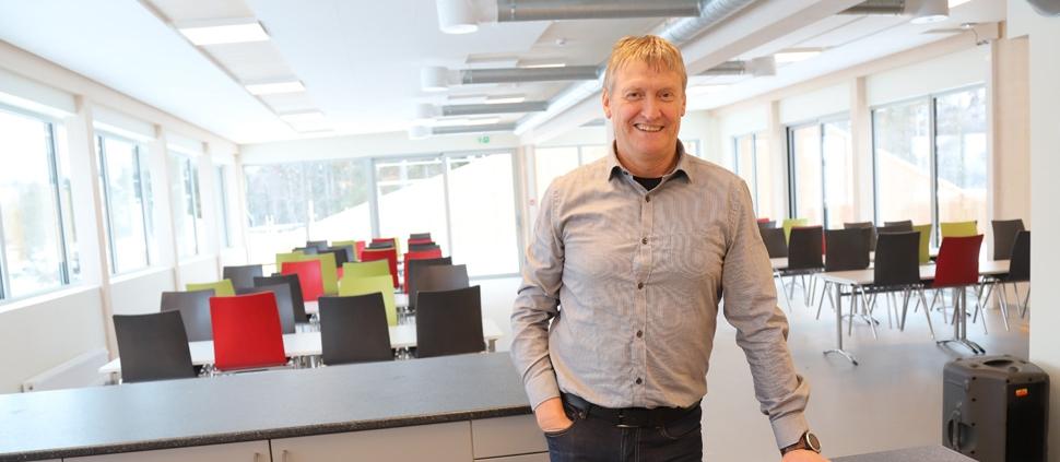 Roar Haugland, daglig leder i Olimb Rørfornying AS