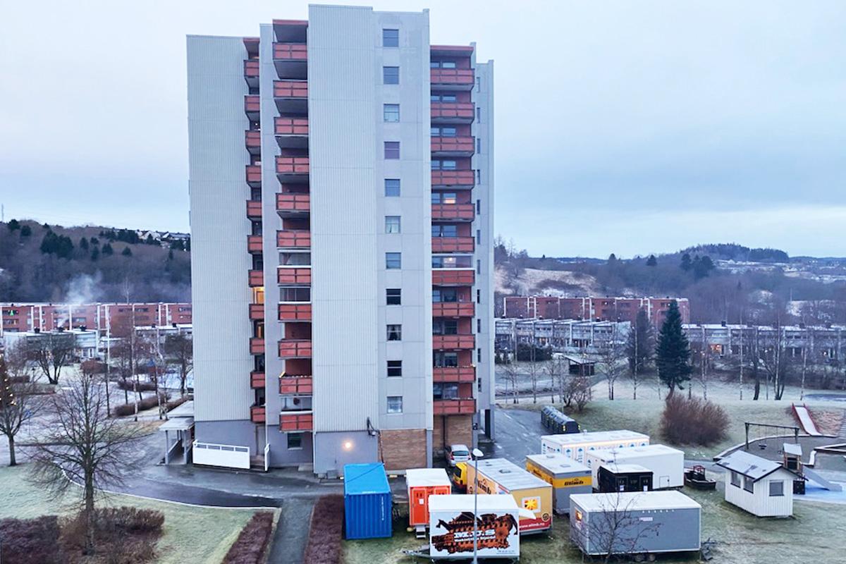 Innvendig rørfornying i Storflata, Romolslia Borettslag