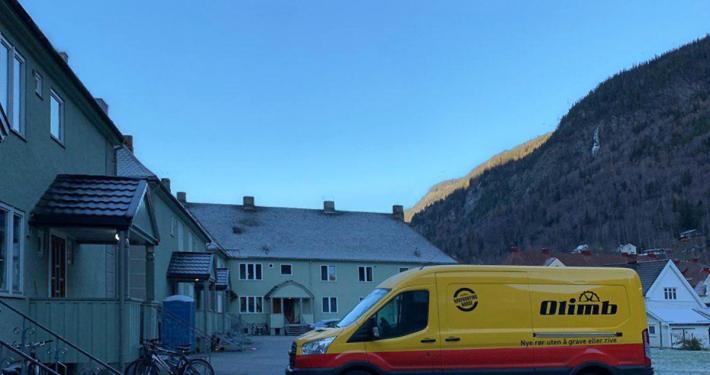 Olimb rørfornyet bunneldningene i Søndre Ingolfsland Borettslag