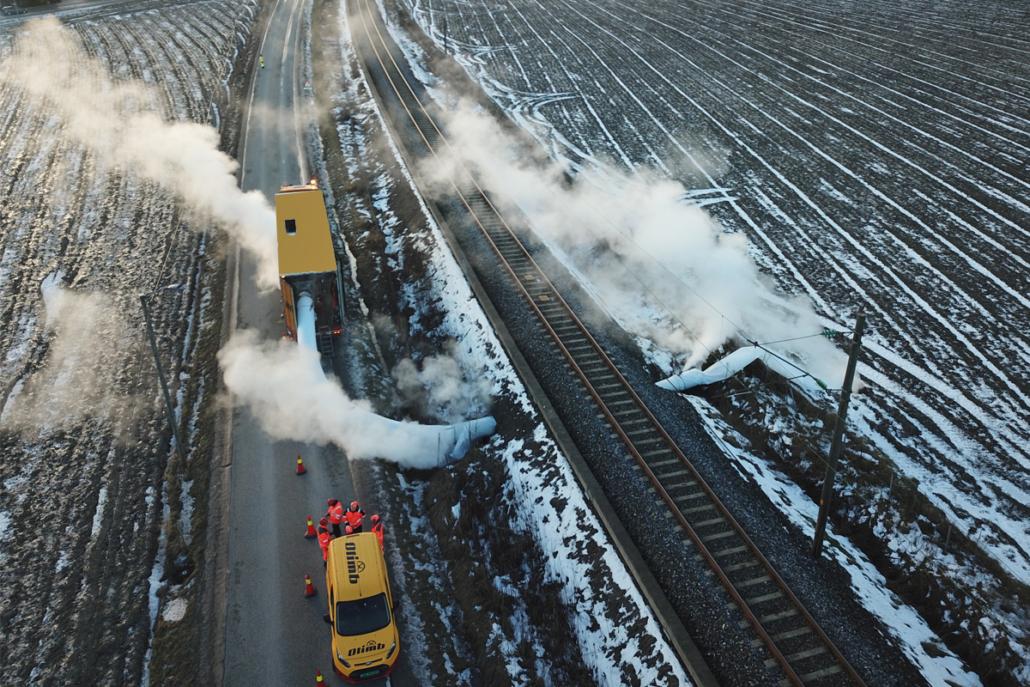 Rørfornying stikkrenne under Vestfoldbanen