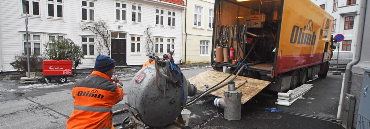 Strømperenovering avløp Bergen